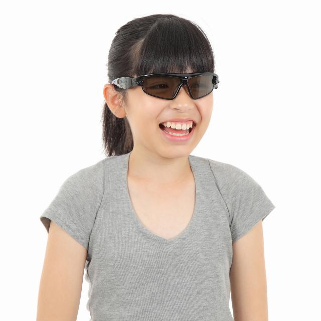 Visionup Junior メタリック・ブラック 装着例