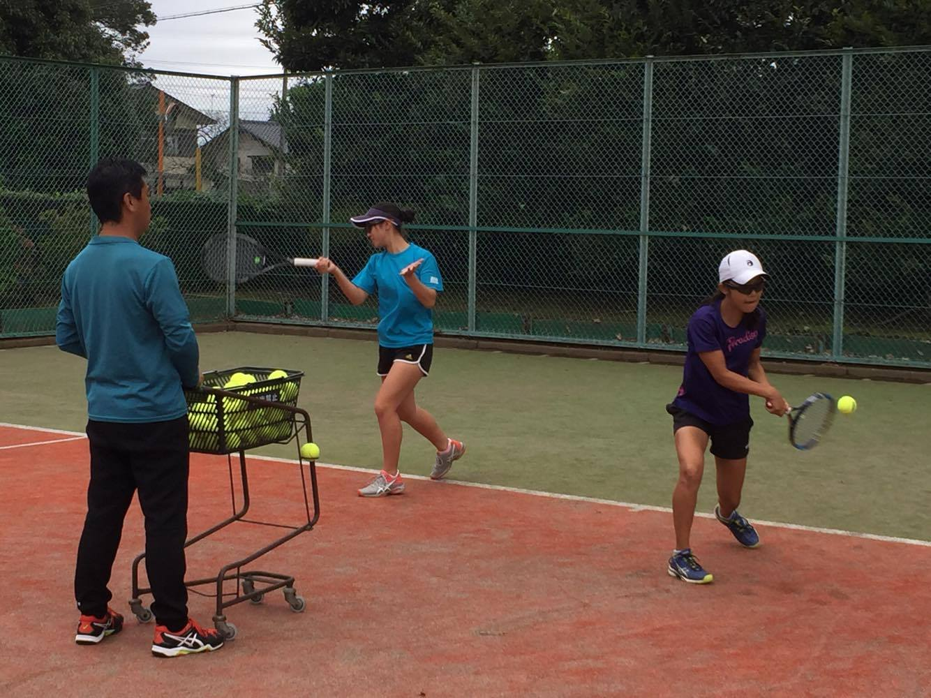 西郷隆幸テニスコーチ