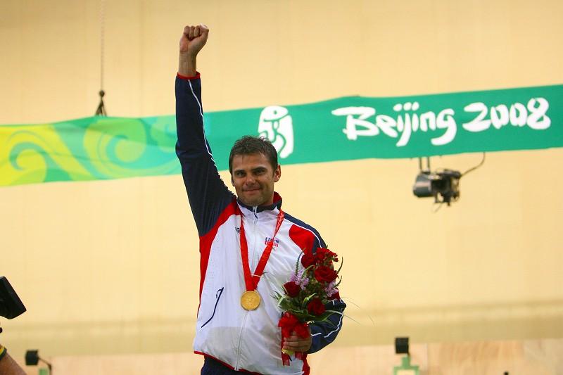 クレー射撃金メダリスト、Mr. Kostelecky 2008北京オリンピック