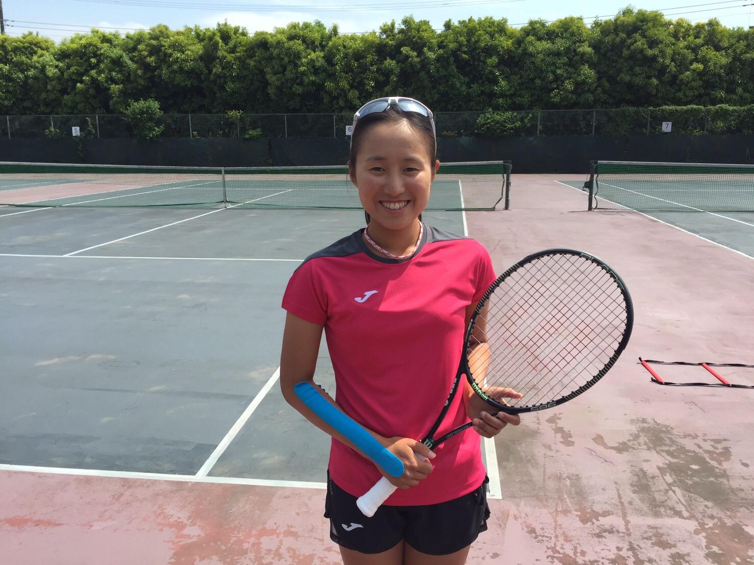 女子プロテニス、西郷幸奈選
