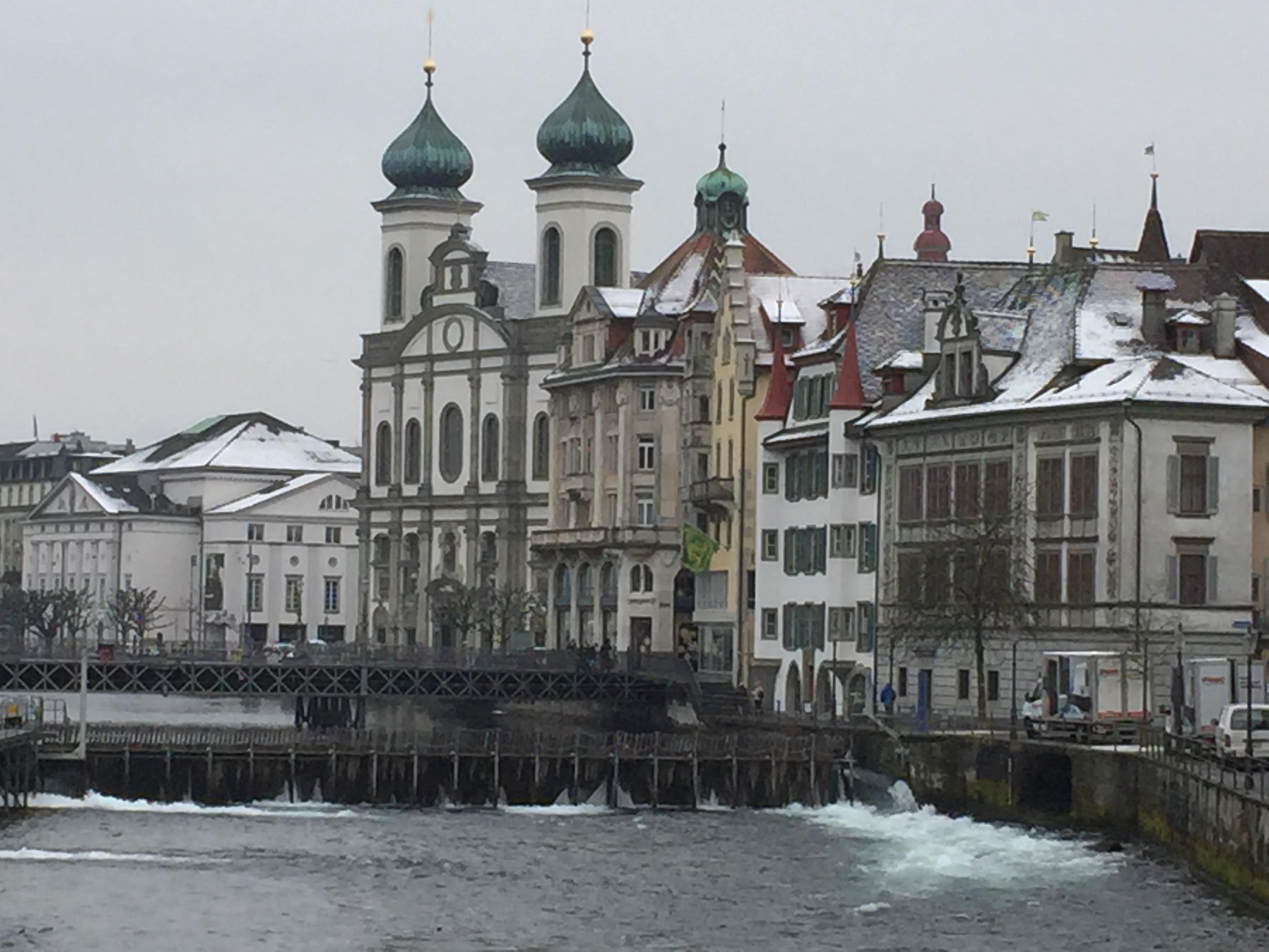 スイスLuzernの風景