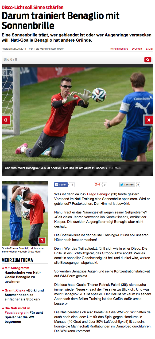 スイス新聞記事